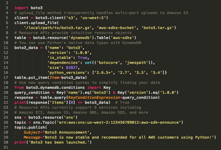 boto3가 자격 증명 정보를 얻어내는 구조