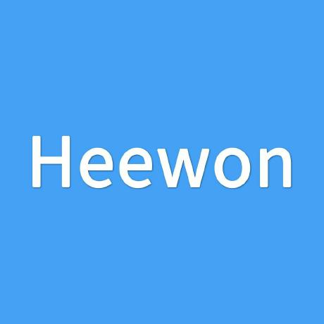 kang-heewon